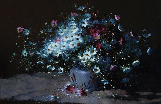 Hennie Griesel (South African 1931-) COSMOS IN A