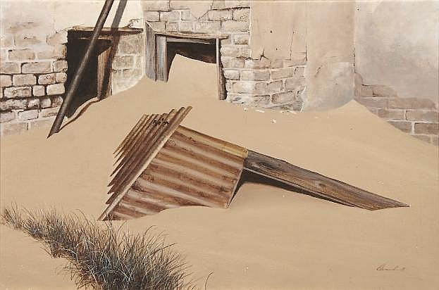 Keith Alexander (South African 1946-1998) LEFT TO
