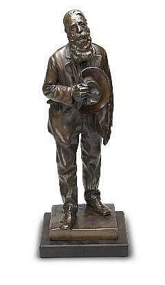 Anton van Wouw (South African 1862-1945) LEEMANS,