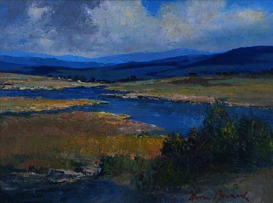 Leonard Anton Benzon (South African 1944-) RIVER