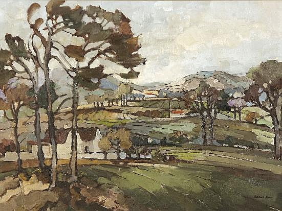 Kobus Louw (South African 20th Century) VERDANT