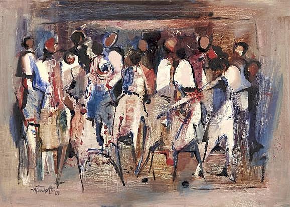 Dirk Adriaan Meerkotter (South African 1922-)