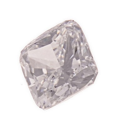 AN UNMOUNTED CUSHION-CUT DIAMOND weighing 2.01cts. Accompanied b