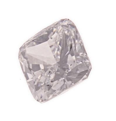 AN UNMOUNTED CUSHION-CUT DIAMOND weighing 2.01cts.    Accompanied b
