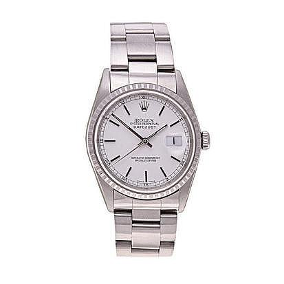 A GENTLEMAN'S STAINLESS STEEL WRISTWATCH, ROLEX OY