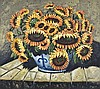 Hennie Griesel (South African 1931-) SUNFLOWERS IN, Hennie Griesel, R7,000