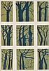 Alice Goldin (South African 1925-2016) TREE SHAPES, Alice Goldin, R1,000