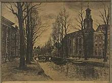 Waalko Dingemans (Snr) (Dutch 19th Century-) CANAL