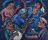 Kenneth Baker (South African 1931-1995) THE MUSICI, Kenneth  Baker, R4,000