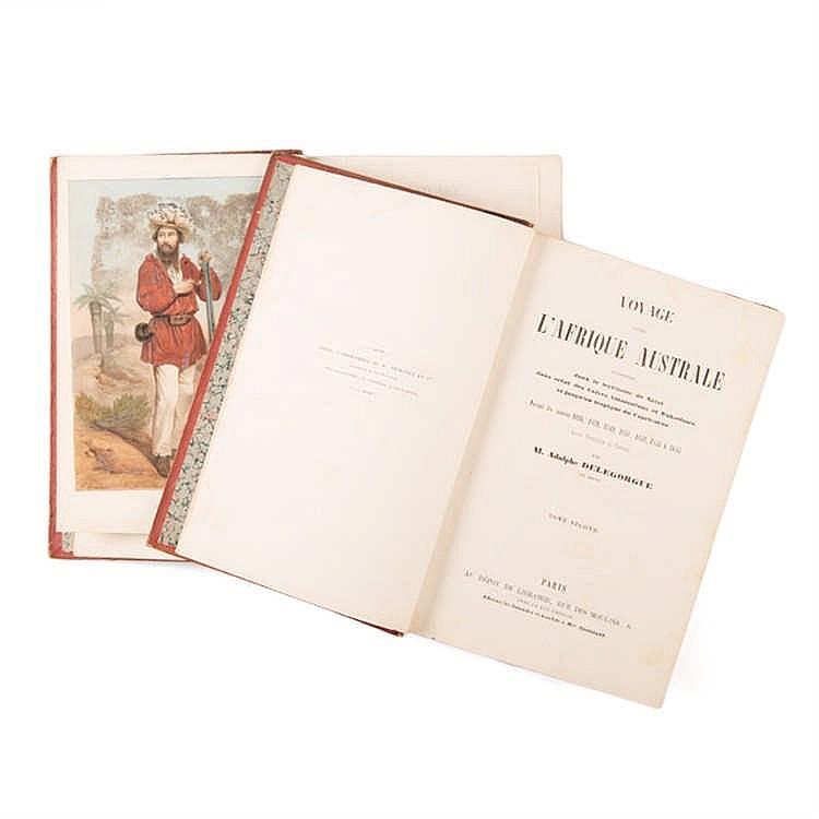 Delegorgue, M. Adulphe VOYAGE DAN'S L AFRIQUE AUSTRALE 1838 - 1844, 2 VOLS