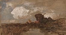 Conrad Nagel Doman Theys (South African 1940-) LANDSCAPE signed and dated 7