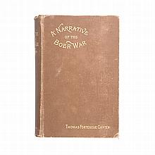 Carter, T. F. A NARRATIVE OF THE BOER WAR (OF 1880 - 81) (WITH) ITS CAUSES