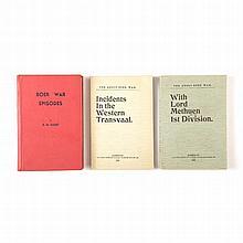 GUEST, H. M. THE BOER WAR BOOKS OF H. M. GUEST Klerksdorp: H. M. Guest Publ