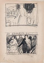Irma Stern (South African 1894-1966) TWO STUDIES signed and dated 1933 penc