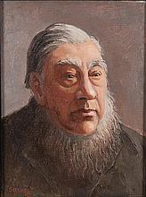 Gregoire Johannes Boonzaier (South African 1909-2005) PAUL KRUGER signed an