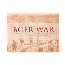Riall, Nicholas (Compiler and Editor) BOER WAR: THE LETTERS, DIARIES AND PH