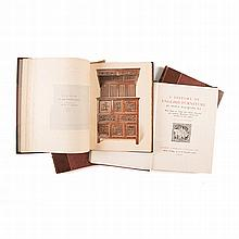 Macquoid, Percy A HISTORY OF ENGLISH FURNITURE, 4 VOLS London: Lawrence & B
