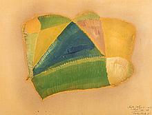 Christo Coetzee (South African 1929-2000) RAINBOW QUARTZ 1 signed, inscribe