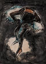 Myrza Gilliot (South African 20th Century-) SPOTLIGHT signed and dated 10/2