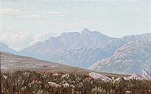 Jan Ernst Abraham Volschenk (South African 1853-1936) THE PEAK OF ROMANSHOE