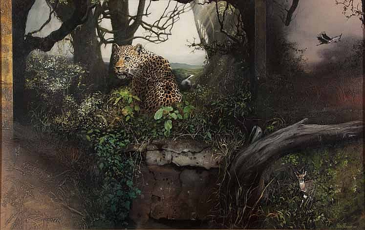 Hannes du Plessis (South African 1941--2004) LEOPA