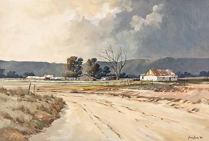 Johan Smith (South Africa 1961 --) COTTAGE ALONG S