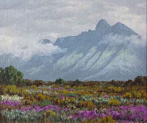 Vera Volschenk (South African 1899--1987) AAN DIE