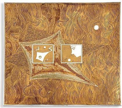 Esias Bosch (1923-2010): A Porcelain Tile