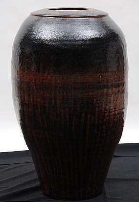 Tim Morris (1941-1990): A Large Pot, 20th Century