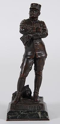 Henri Fugere (1872-1930): A Bronze Sculpture of