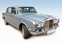 A 1972 ROLLS ROYCE SILVER SHADOW 51600 miles, 6230cc V8, astral blue, navy