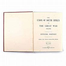 Anon THE UNION OF SOUTH AFRICA AND THE GREAT WAR 1914 - 1918 OFFICIAL HISTO
