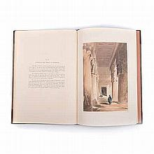 Pilleau, H. SKETCHES IN EGYPT London: Dickinson & Son Publishers, 1845 Firs