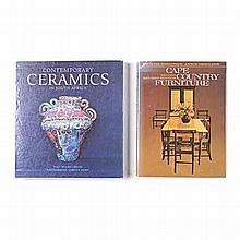 Various TWO BOOKS ON SOUTH AFRICAN DECORATIVE ARTS Including the following: