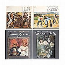 Various FOUR BOOKS ON SOUTH AFRICAN 20TH CENTURY MASTER ARTISTS Including t