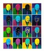 Norman Clive Catherine (South African 1949-) CACTUS MEN giclée print, signe, Norman Catherine, R8,000
