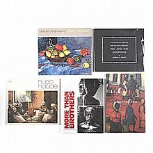 Various A COLLECTION OF BOOKS ON SOUTH AFRICAN ARTISTS Including the follow