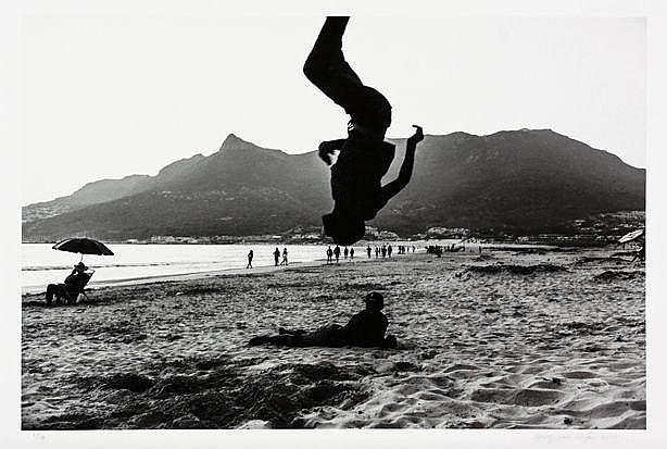 GARY VAN WYK, (SOUTH AFRICAN, 1981 -): 'HOUT BAY BEACH, 2016', SILVER GELAT