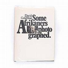 Goldblatt, David SOME AFRIKANERS PHOTOGRAPHED Murray Crawford, Cape Town, 1