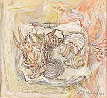 May (Mary Ellen) Hillhouse (South African 1908-1989) COLLECTION OF SHELLS s