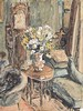 Maud Frances Eyston Sumner (South African 1902-1985) INTERIOR SCENE WITH FL, Maud Sumner, R16,000