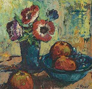 Otto Klar (South African 1908-1994) STILL LIFE