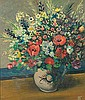 Pranas Domsaitis (South African 1880-1965) FLOWERS, Pranas Domšaitis, Click for value