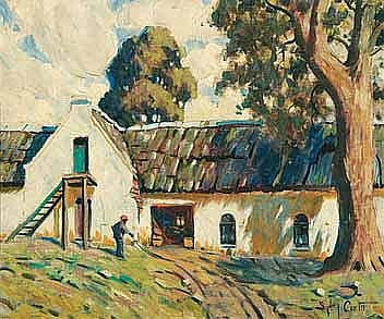 Sydney Carter (South African 1874-1945) FARM