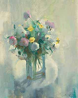 Louis van Heerden (South African 1941-) SPRING