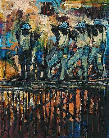 Ephraim Mojalefa Ngatane (South African 1938-1971)