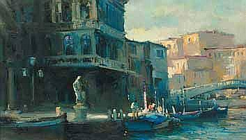 Ruth Squibb (South African 1928-) GONDOLAS IN