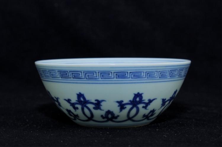 Chinese Ming Porcelain Blue&White Bowl