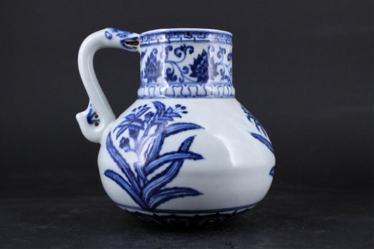 Chinese Ming Porcelain Blue&White Pot