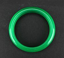 Old Chinese Green Jadite Bracelet